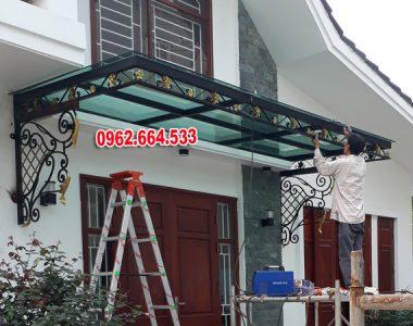 Thi Công Mái Kính Sắt Mỹ Thuật Nhà GS Tuấn ở Thanh Trì Hà Nội