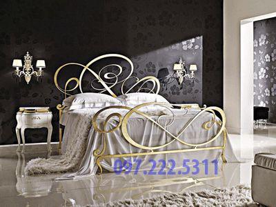giường sắt mỹ thuật hà nội