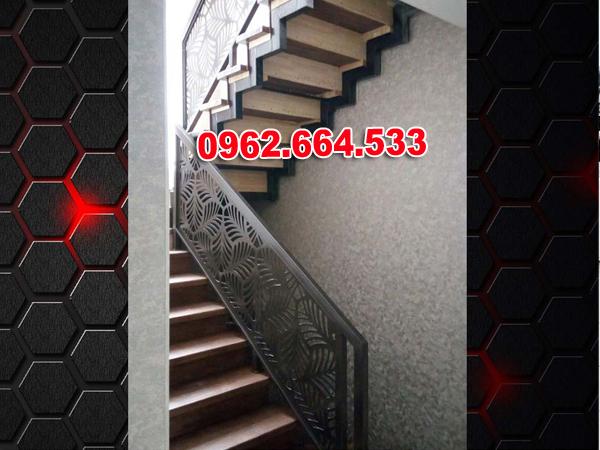Lan Can Cầu Thang Sắt mỹ Thuật Cắt CNC 012