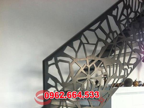 Lan Can Cầu Thang Sắt mỹ Thuật Cắt CNC 025