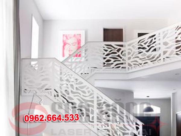 Lan Can Cầu Thang Sắt mỹ Thuật Cắt CNC 027