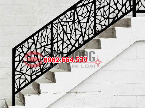 Lan Can Cầu Thang Sắt mỹ Thuật Cắt CNC 029