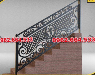 Lan Can Cầu Thang Sắt mỹ Thuật Cắt CNC 041