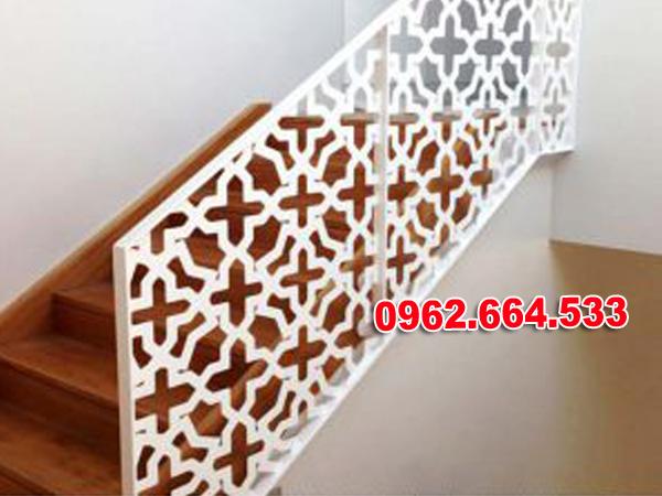 Lan Can Cầu Thang Sắt mỹ Thuật Cắt CNC 021