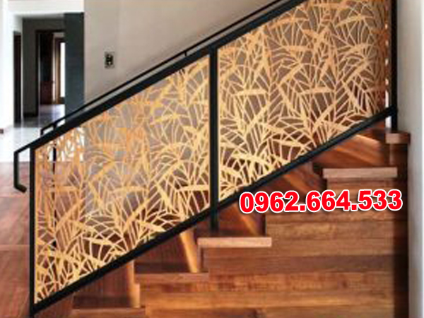 Lan Can Cầu Thang Sắt mỹ Thuật Cắt CNC 022