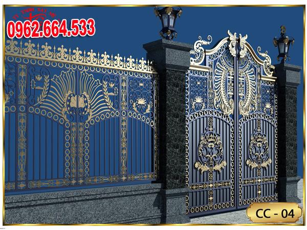 cổng sắt nghệ thuật đẹp nhất