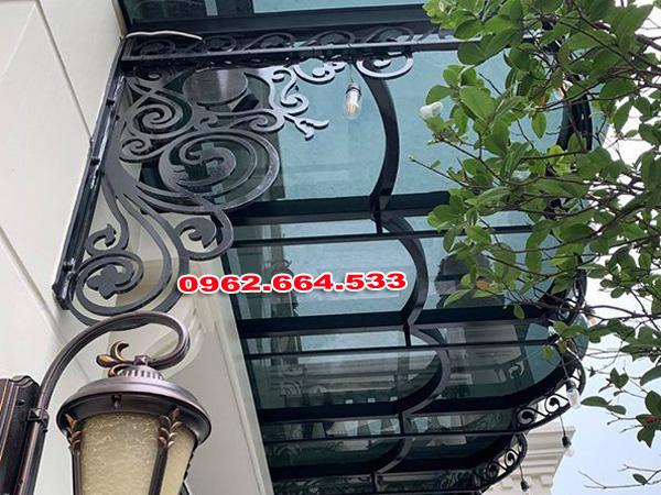 Mẫu Mái Vòm Sắt Nghệ Thuật Đẹp Nhất Cho Biệt Thự