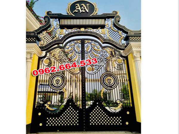 cửa cổng mỹ nghệ