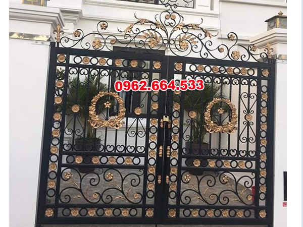 cửa cổng sắt đẹp